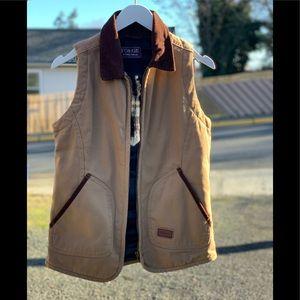 Forge Workwear canvas zip vest size S